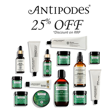 Antipodes - 25% Off RRP