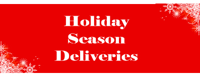 Christmas Delivery Deadline