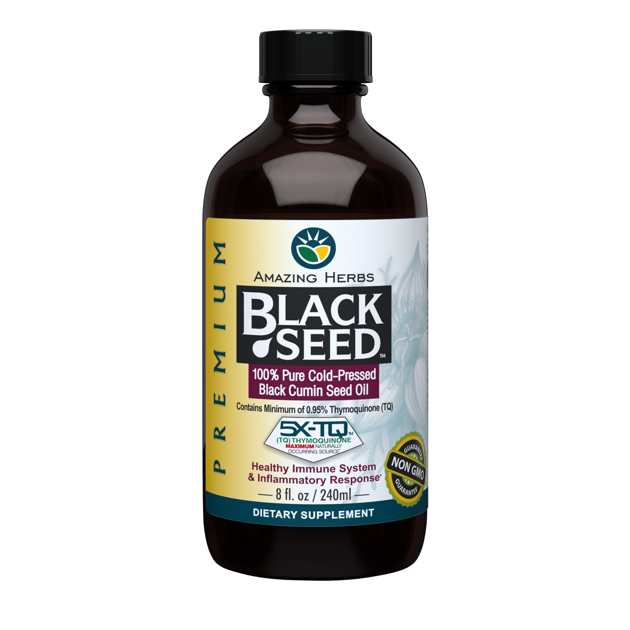 Buy Amazing Herbs Black Seed Oil Online 240ml And 473ml