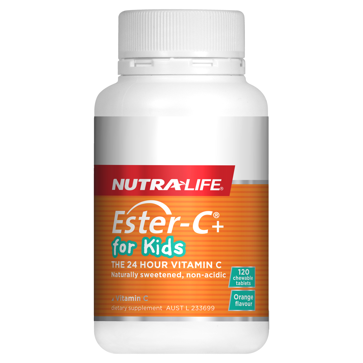 Buy Nutra-Life Ester C For Kids Online - 60 Chews and 120 Chews
