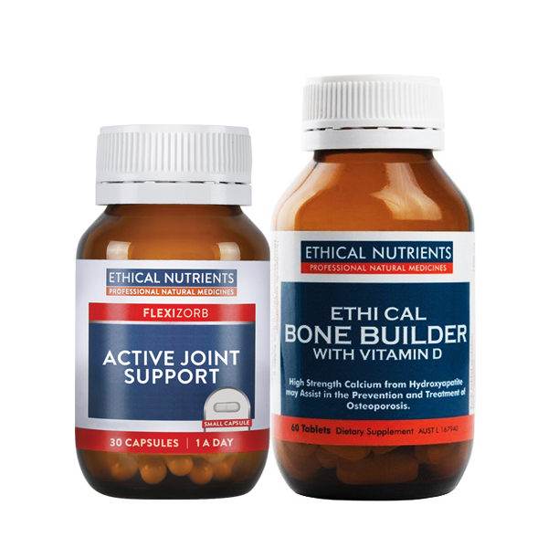 Ethical Nutrients Active Joint Support + Ethical Nutrients Bone Builder with Vitamin D