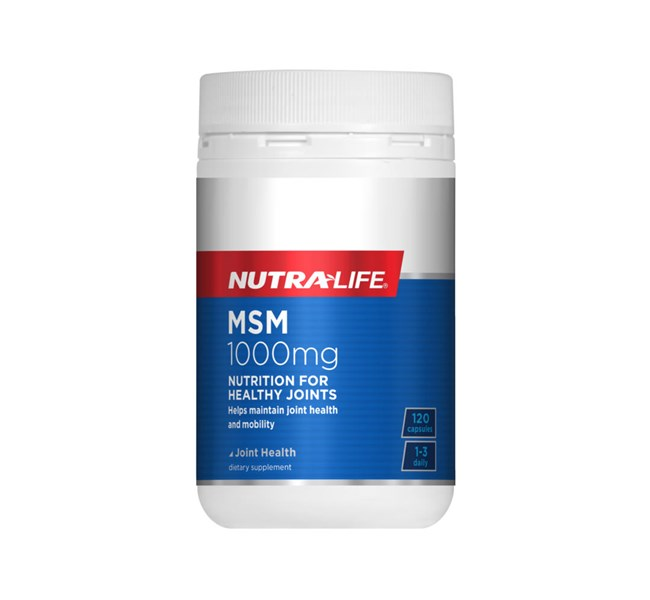 Nutra-Life MSM 1000mg