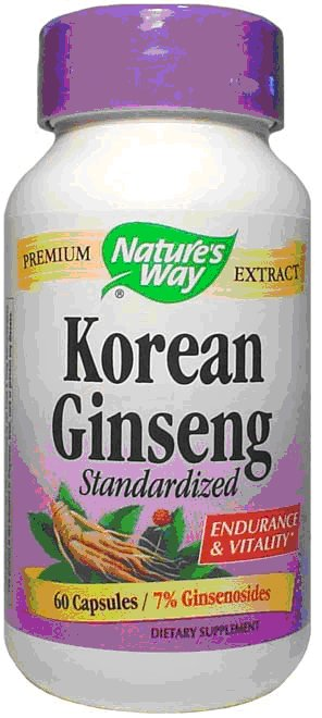 Natures Way Ginseng Korean