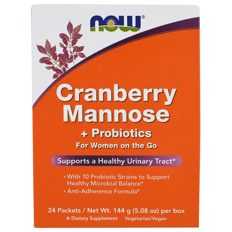 NOW Cranberry Mannose & Probiotics