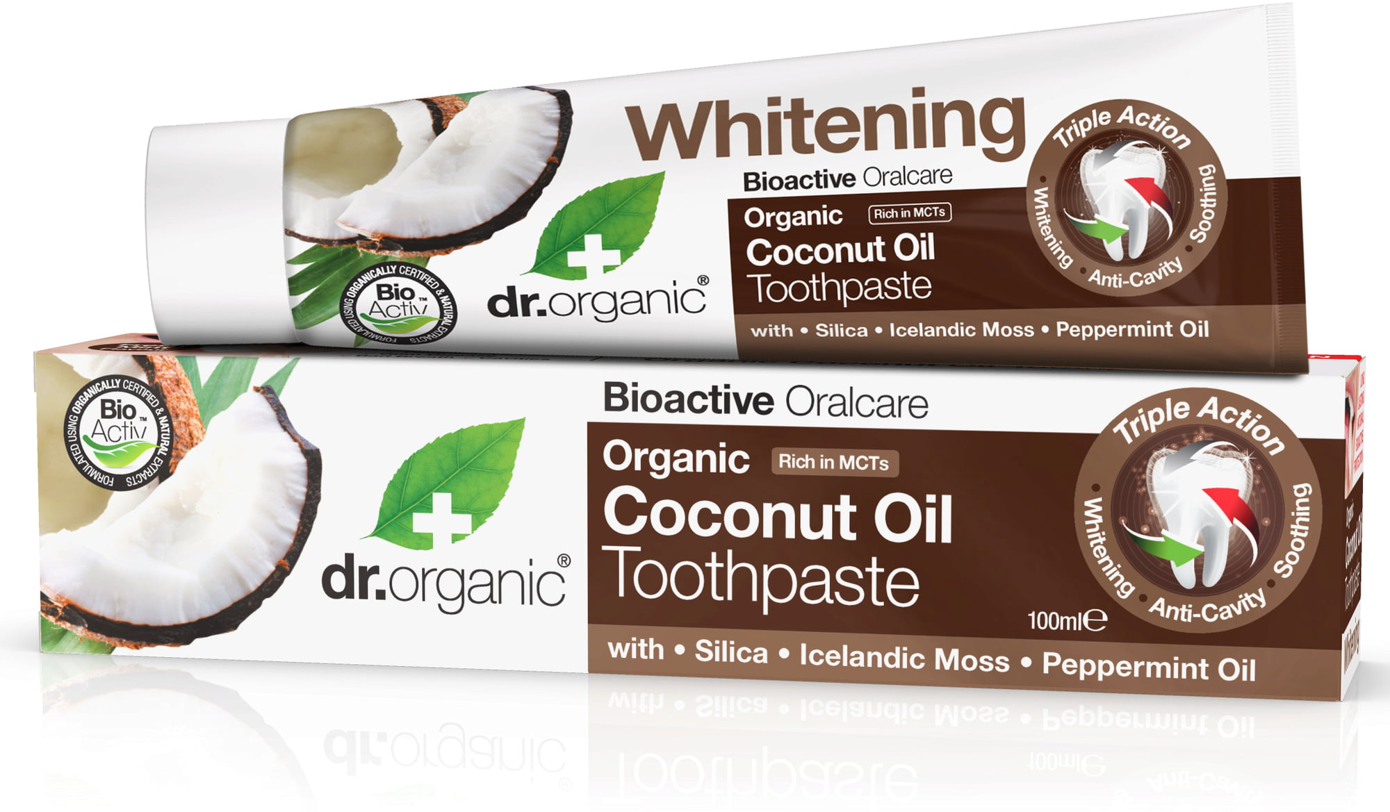 Dr.Organic Coconut Oil Toothpaste