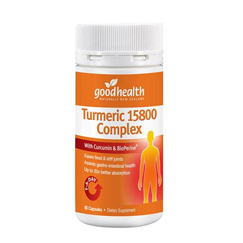Good Health Turmeric 15800 Complex