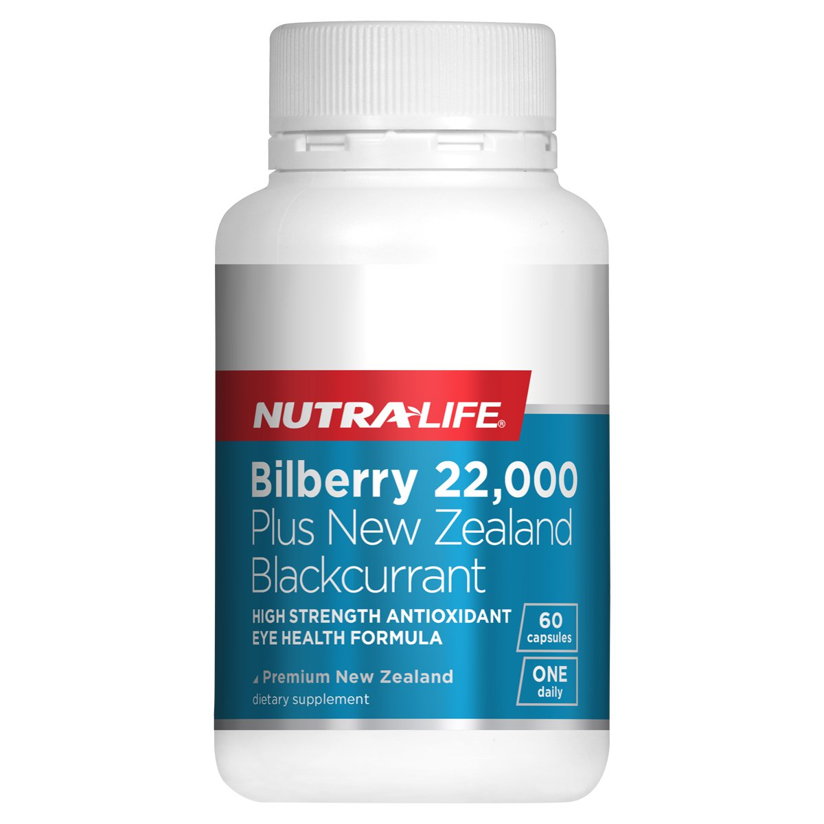 Nutra-Life Bilberry 22,000 plus NZ Blackcurrant