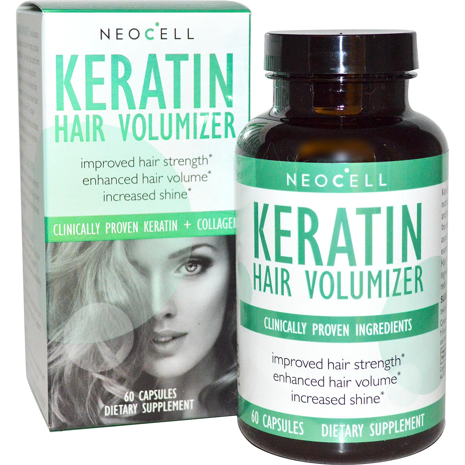 Capsules for hair