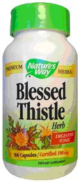 Natures Way Blessed Thistle Single Herb