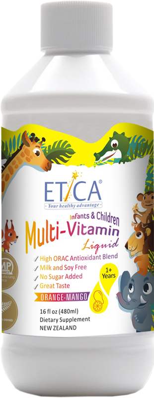 Etica Kids Multi-Vitamin Liquid