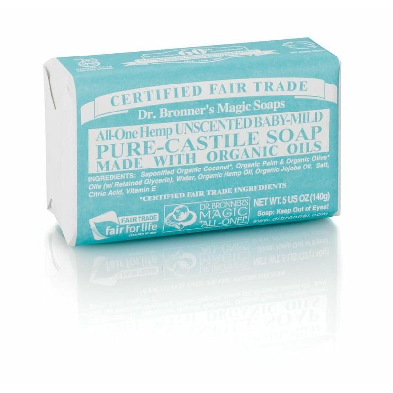 Buy Dr Bronner S Magic Bar Soap All One Hemp Pure