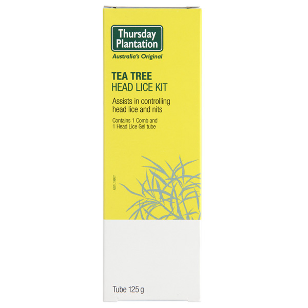 Thursday Plantation Tea Tree Head Lice Gel Kit