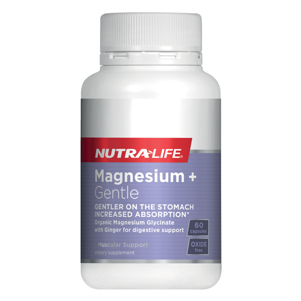 Nutra-Life Magnesium + Gentle
