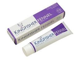 Kingfisher - Fennel Toothpaste Fluoride Free