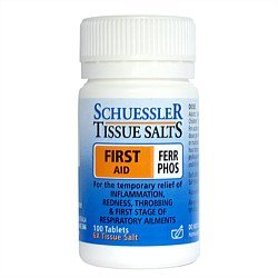 Schuessler Tissue Salts FERR PHOS - First Aid