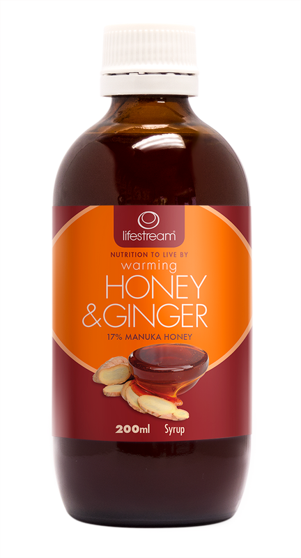 Lifestream Warming Honey & Ginger Syrup