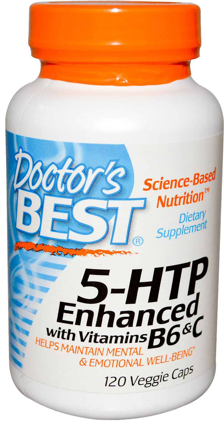 Doctor\'s Best - 5HTP Enhanced with Vitamins B6 and C