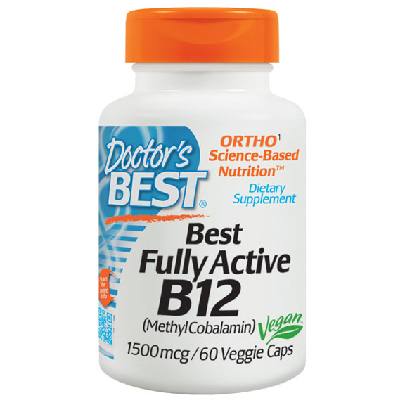 Doctor\'s Best - Fully Active B12 1500mcg