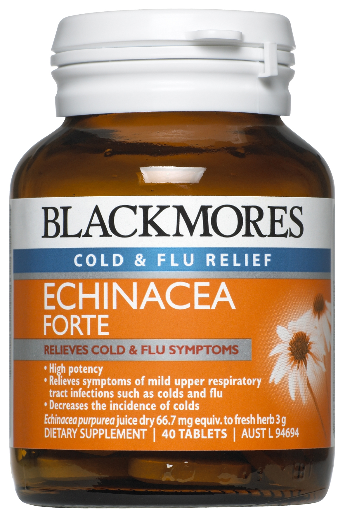 Buy Blackmores Echinacea Forte Online 40 Tabs