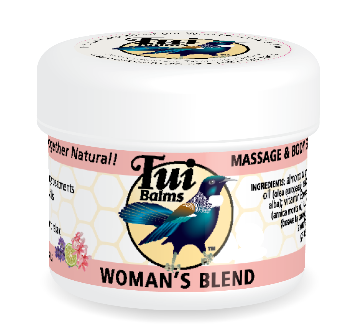 Tui Balms - Women\'s Blend Massage Balm