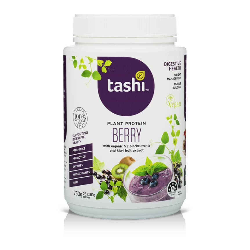 TASHI Superfoods Plant Protein Berry
