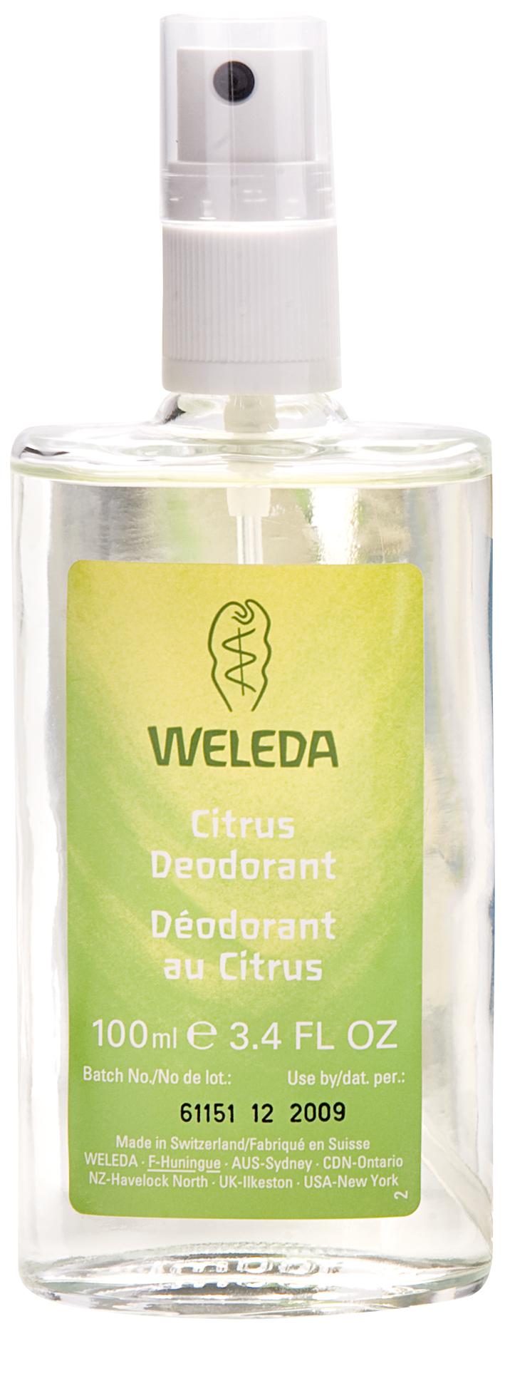 Weleda citrus deodorant review