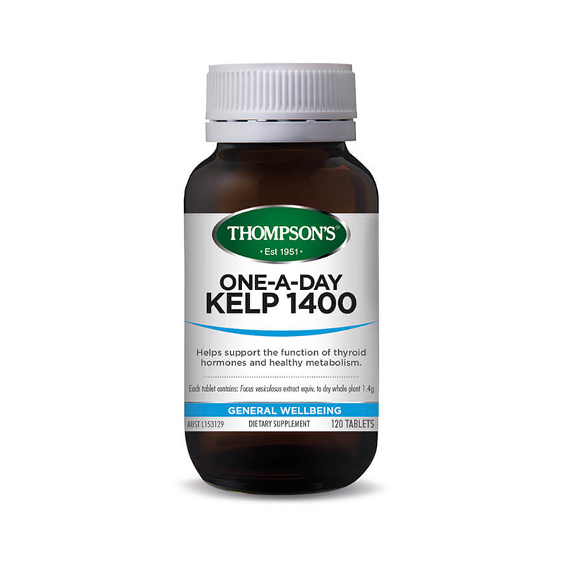Thompson\'s Kelp 1400 One-A-Day