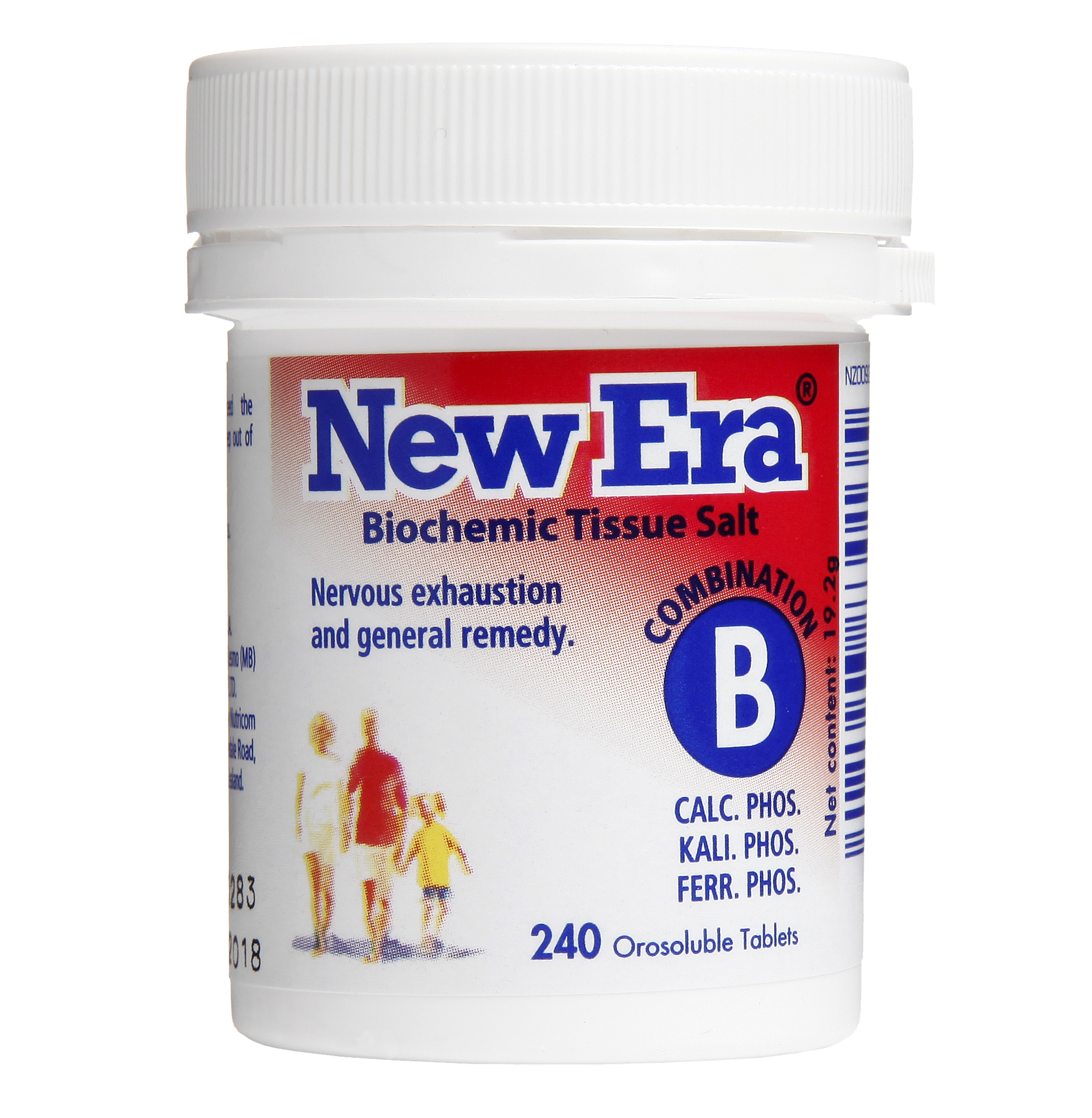 New Era Combination B Mineral Cell Salts