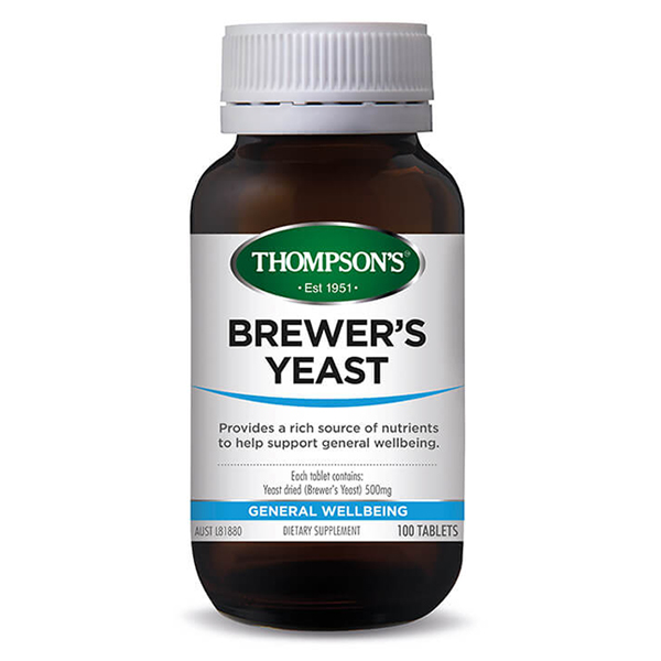 Thompsons Brewer\'s  Yeast 500 mg