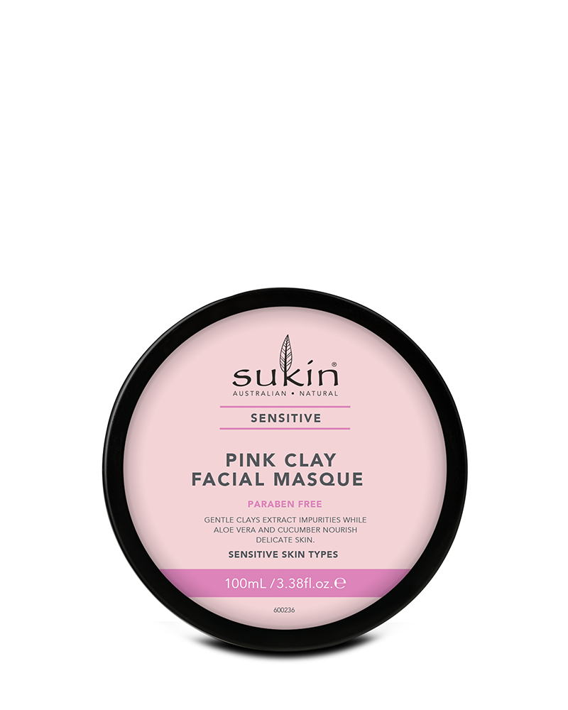 Sukin Pink Clay Facial Masque