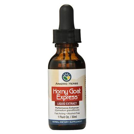 Amazing Herbs HORNY GOAT EXPRESS Liquid Extract
