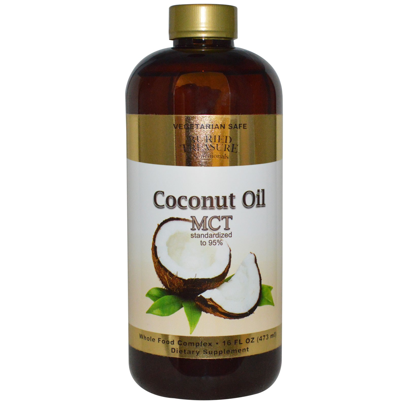 Mct oil and coconut oil