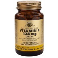 Solgar Vitamin E 200iu (Softgels)