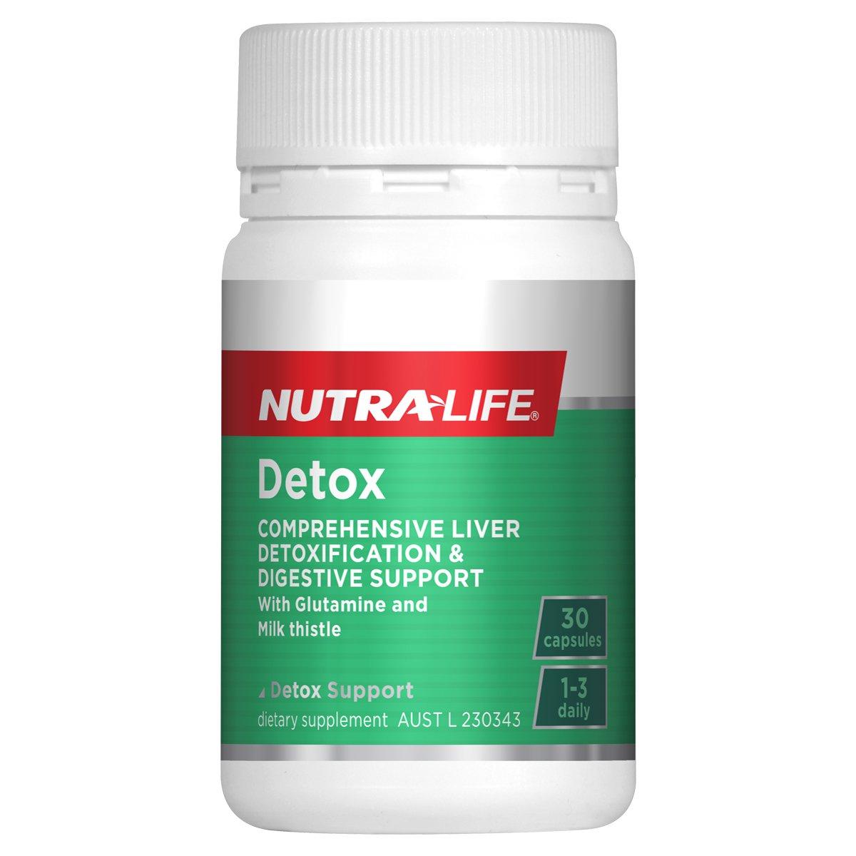 Buy Nutra Life Detox Online 30 Caps