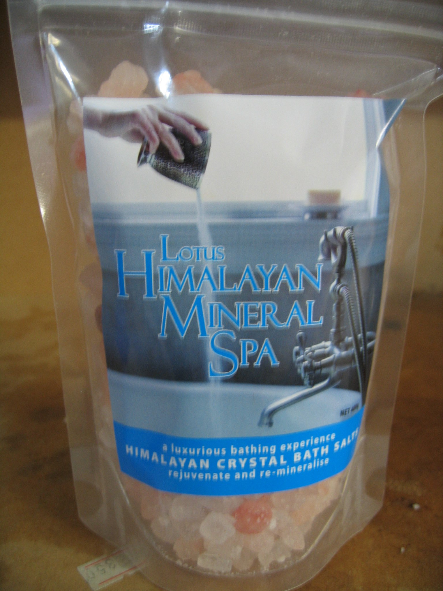 Buy Lotus Himalayan Mineral Spa Bath Salts Online - 1kg