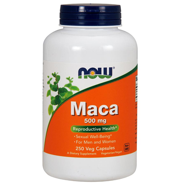 Now Maca 500mg 250 Caps