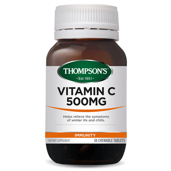Thompson\'s Vitamin C 500mg chewable