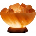 Mt Meru Salt Lamp Bowl of Fire 6 inch diameter
