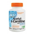 Doctor's Best - Acetyl L-Carnitine 500mg