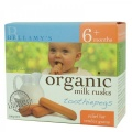 [CLEARANCE] Bellamy's Organic Toothiepegs Teething Rusks 100g net
