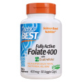 Doctor's Best - Fully Active Folate with Quatrefolic 400mcg
