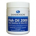 Sanderson Fish Oil 2000 Easy Swallow & Odourless