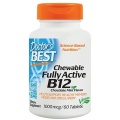 Doctor's Best - Chewable Fully Active B12 1000mcg