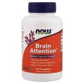 NOW Brain Attention - Natural Chocolate Flavour