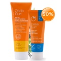 Oasis Beauty SPF30+ Broad Spectrum Sunscreen 250ml + SPF40 Sport Sunscreen Bundle